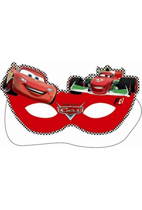 Dahice Cars Orijinal Lisanslı 6 Adet Maske