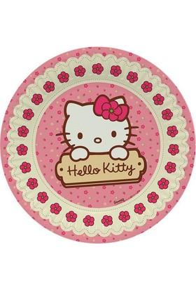 Dahice Hello Kitty Orijinal Lisanslı 8 Adet 23 Cm Karton Tabak