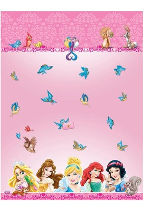 Dahice Disney Princess Orijinal Lisanslı 120*180Cm Masa Örtüsü