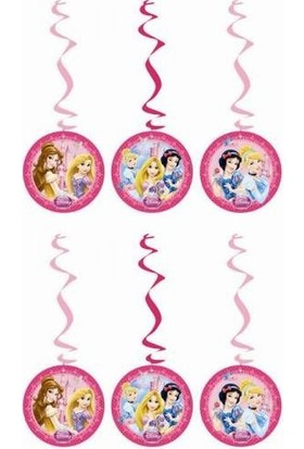 Dahice Disney Princess Orijinal Lisanslı 3 Adet Asmalı İp Süsü