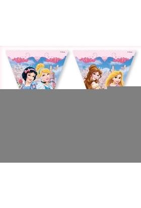 Dahice Disney Princess Orijinal Lisanslı 3,2 Metre Asmalı Bayrak Seti