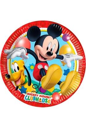 Dahice Mickey Mouse Club House Orijinal Lisanslı 8 Adet 23 Cm Tabak