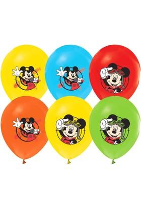 Dahice Mickey Mouse Club House Orijinal Lisanslı 12 Adet Balon