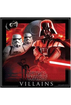 Dahice Star Wars Orijinal Lisanslı 8 Adet 200 Adet Peçete