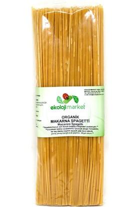 Ekoloji Market Organik Makarna Spagetti 350 Gr