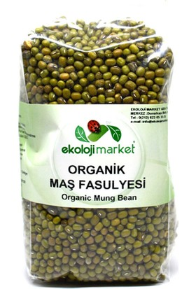 Ekoloji Market Organik Maş Fasulyesi 500 Gr