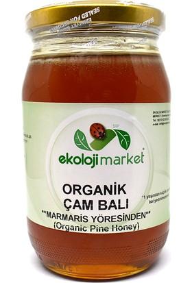 Ekoloji Market Organik Çam Balı Marmaris 450 G