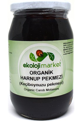 Ekoloji Market Organik Keçiboynuzu Harnup Pekmezi 430 Gr