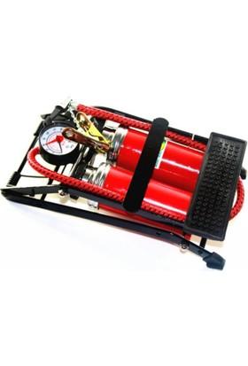 Bema Basınç Göstergeli Çift Pistonlu Ayak Pompası