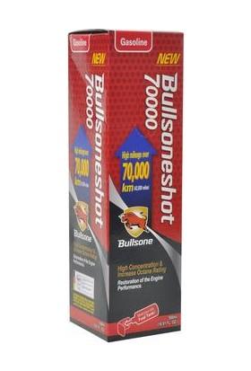 Bullsone Shot 70 Bin KM Üzeri BENZİNLİ Araç İçin Yakıt Sistemi Temizleyici 500ml