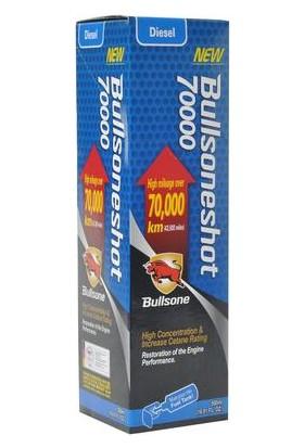 Bullsone Shot 70 Bin KM Üzeri DİZEL Araç İçin Yakıt Sistemi Temizleyici 500ml