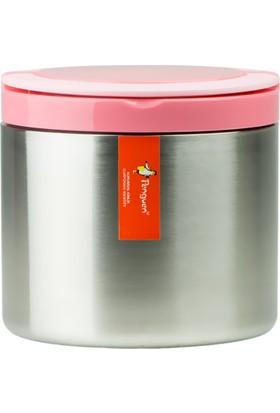 Penguen Png-30Çelik İnox Yemek Termosu Tekli Pembe (Sefer Tası)