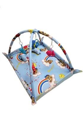 Baskaya Bebek,Çocuk Oyun Halısı Kaliteli Pamuk Kumaş Çocuk Oyun Parkuru