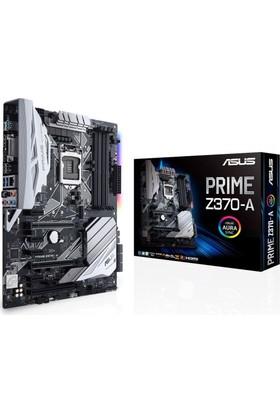 Asus Prime Z370-A Intel Z370 Soket 5-V.2 Ddr4 4000Mhz(Oc) Usb3.Rgb Anakart
