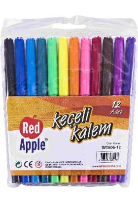 Red Apple Keçeli Kalem 2 Renk