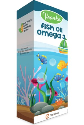 Voonka Fish Oil Omega 3 - 50 Ml
