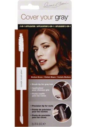Cover Your Gray Beyaz Saç Kapatıcı Saç Maskarası Orta Kahve