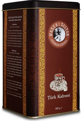 Gusse Haseki Sultan Premium Türk Kahvesi (Turkish Coffee) 500 Gr
