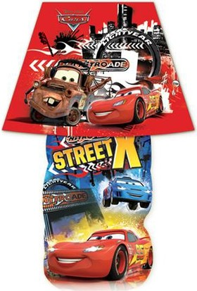 Disney Cars (Red) Sticker Gece Lambası