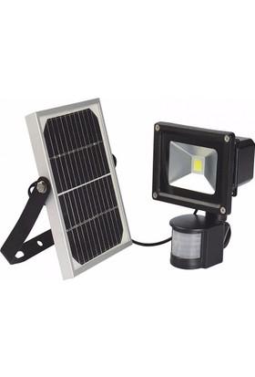 Lider Güneş Enerjili Hareket Sensörlü Fotoselli Led Projektör