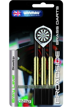 Pusula Oyun Winmau Çelik Uçlu Dart Seti (Winmau Broadside 22 Gr)