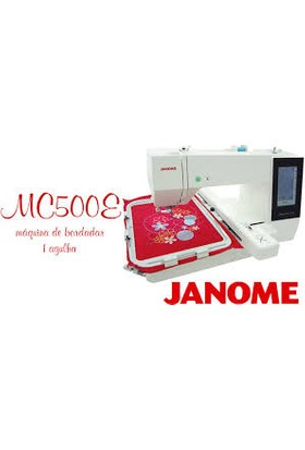 Janome Mc 500E - Bilgisayarlı Otomatik Nakış Makinesi