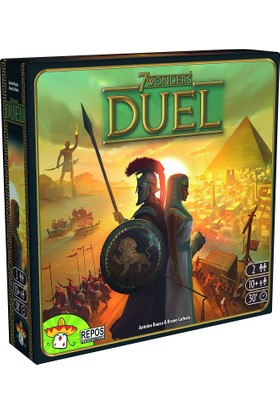 Asmodee 7 Wonders Duel (İngilizce)