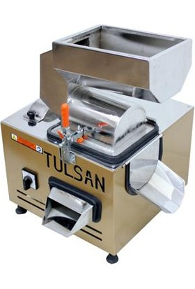 Tulsan Yaş Meyve Sebze Sıkma Domates Biber Salça Yapma Makinası Küçük Tip