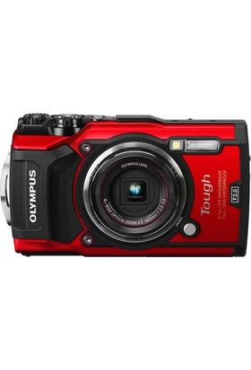 Olympus Tg-5 Su Altı Fotoğraf Makinesi Kırmızı