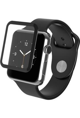 Markacase Apple Watch 42 Mm Tempered Cam Tam Kaplamalı