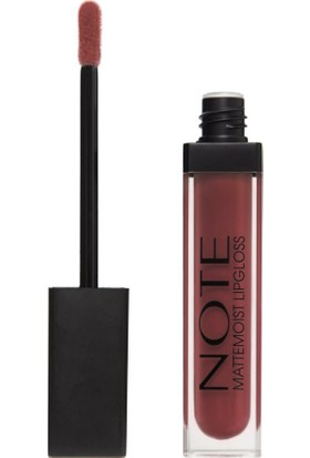 Note Mat Lipgloss Ruj 46 Clover Brown