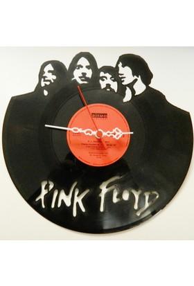 Kişiye Özel Plak Saat - Pink Floyd Temalı