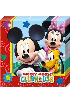 PartiBulutu Mickey Playful Kağıt Peçete 33x33cm