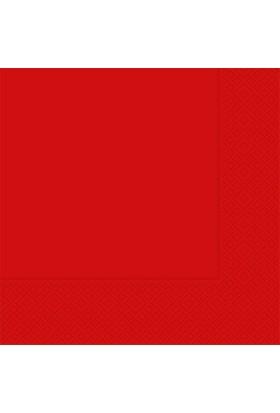 PartiBulutu Kırmızı Kağıt Peçete