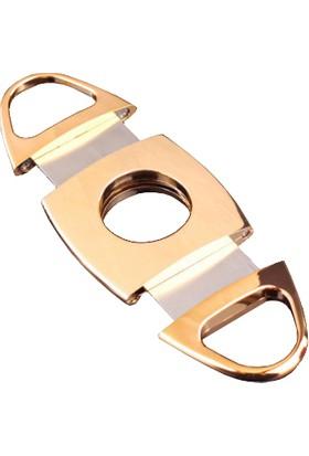 İmco Parlak Sarı Çelik Puro Makası Hy13