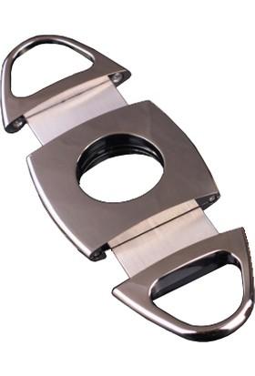İmco Parlak Siyah Çelik Puro Makası Hy13