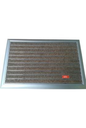 Sds 55*89 Cm Alüminyum Çerçeveli Metal Paspas Halı Fitilli
