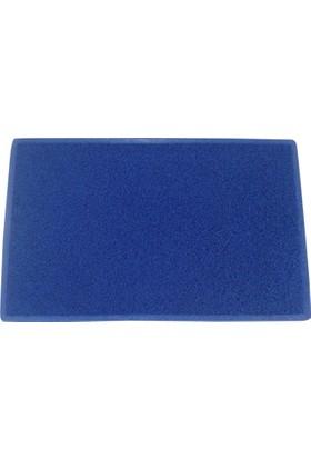 Sds 50*80 Kıvırcık Paspas Mavi