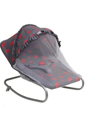 Happy Baby Desenli Tenteli Ana Kucağı