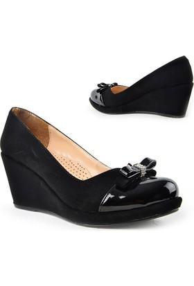 Kaplan 222 Zn Süet Dolgu Topuk Bayan Ayakkabı