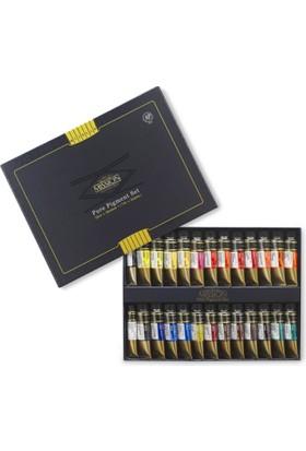 Mijello Mission Gold Class Pigment Suluboya 15Ml X 24 Renk + 2
