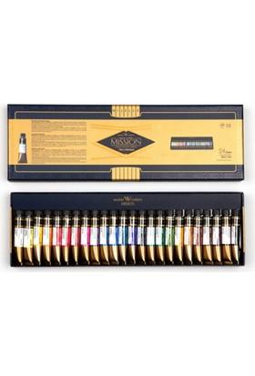 Mijello Mission Gold Class Pigment Suluboya 7Ml X 24 Renk