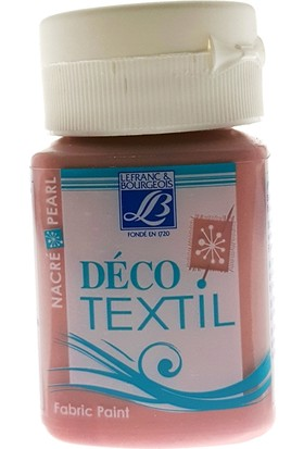 Lefranc&Bourgeois Kumaş Boyası 50Ml - 742 Pearl Beades Pink