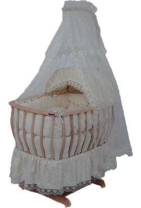 Kuğu Bebe Organik Sepet Beşik