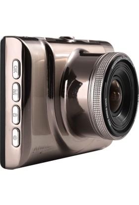 Anytek A100 Araç Tipi Kamera Novatek Full Hd 1080P 3'' Tft Ekran -170˚ Lensli , Park Monitörlü Kamera+Dvr