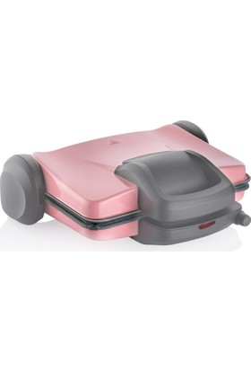 Schafer Tosthaus Tost Makinesi - Pembe