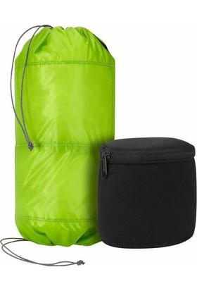 Trekmates Two Tier Padded Stuff Bag-Green/Grey Large 10L Çanta Torbası Tierstf