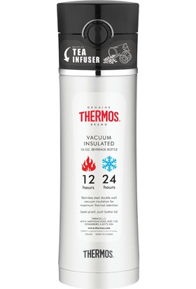 Thermos NS 403 Çay Demleme Aparatlı Mug Termos 470ml. Siyah 126772 / SİYAH - STD