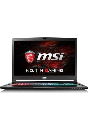 "MSI GS73VR 7RF(Stealth Pro)-442XTR Intel Core i7 7700HQ 16GB 1TB + 256GB SSD GTX1060 Freedos 17.3"" FHD Taşınabilir Bilgisayar"