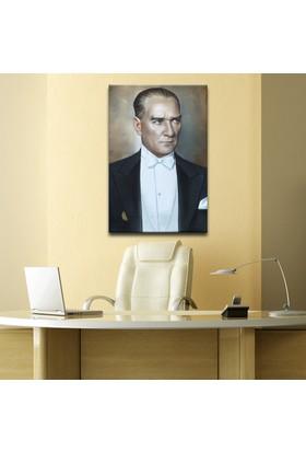 Plustablo Atatürk Portresi Kanvas Tablo 20x30 cm.